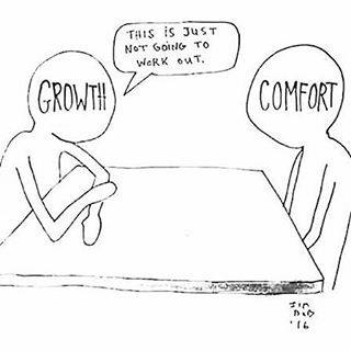 growth vs comfort