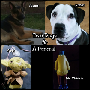 two dogs and a funeral