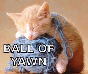 ball of yawn